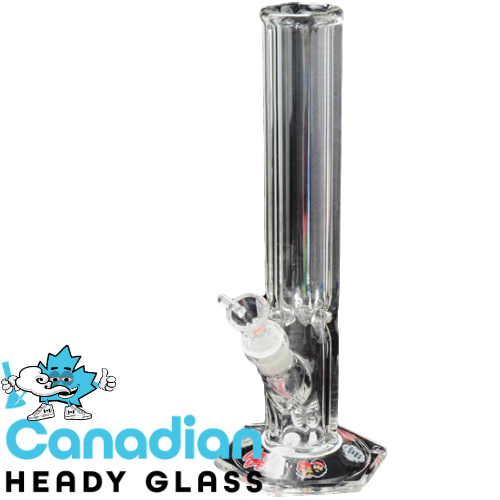 "Cheech & Chong Glass 12"" Dave's Hexagon Base Tube with 14mm Joint"