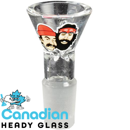 Cheech & Chong Glass 19mm Clear Pull-Out