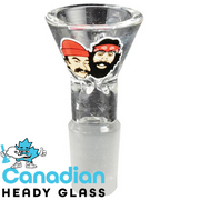 Cheech & Chong Glass 14mm Pull-Out