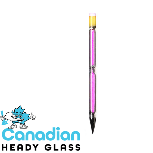 Red Eye Glass Hour Glass Pencil Dabber
