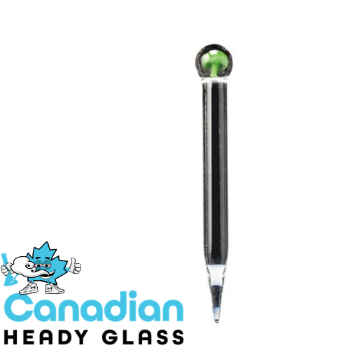 Red Eye Glass Mushroom Marble Dabber