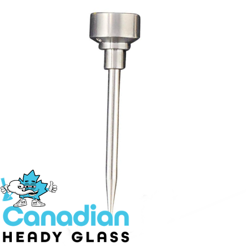 GEAR Titanium Pitch Fork Dabber & Carb Cap