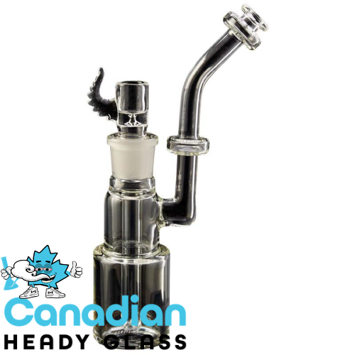 GEAR Limited Edition 8 Inch Tall 19/22 Bubbler W/Built In Diffuser Downstem