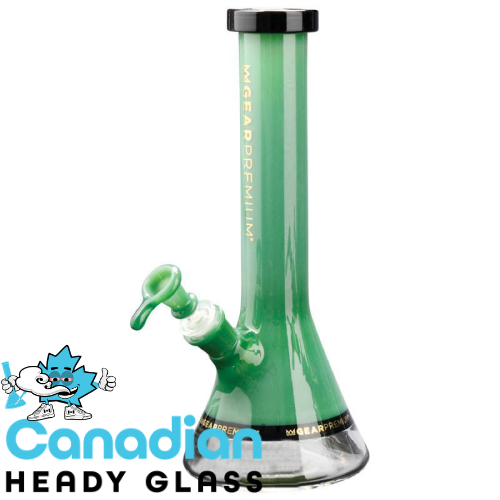 "GEAR Premium 12"" Tall Tuxedo Swank Beaker Tube W/Black Accents"