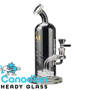 "GEAR Premium 9"" Tall Orbitron Bubbler W/Quad Jet Perc"