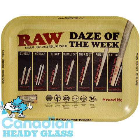 Raw Daze Of Of The Week Tray