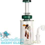 "Red Eye Glass 8.5"" Apiary Concentrate Rig with UFO Perc"