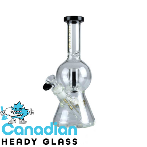 "Red Eye Tek 10"" Deuce Bubble Beaker Mini Tube"