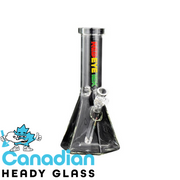 "Red Eye Tek 12"" Tall Clear Hextatic Tube W/Six Sided Pyramid Base"