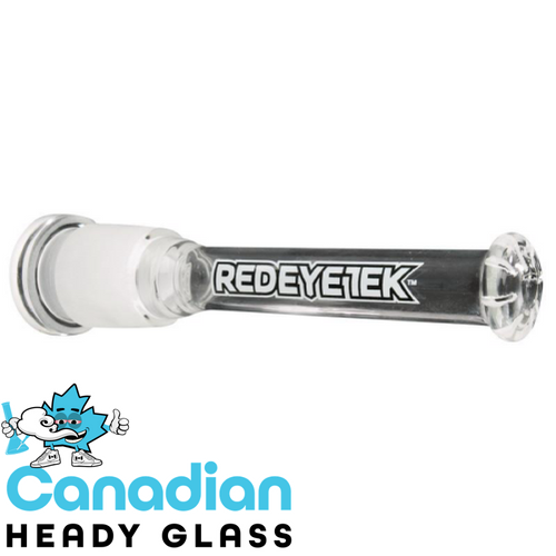 Red Eye Tek 19/29 Clear Showerhead Flush Mount Diffuser Downstem