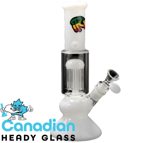 "iRie 10"" Tall Blaze Beaker Tube W/8-Arm Tree Perc"