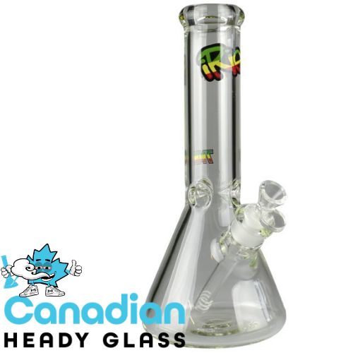 "iRie 12"" Tall 7mm & 9mm Thick Beaker Tube"