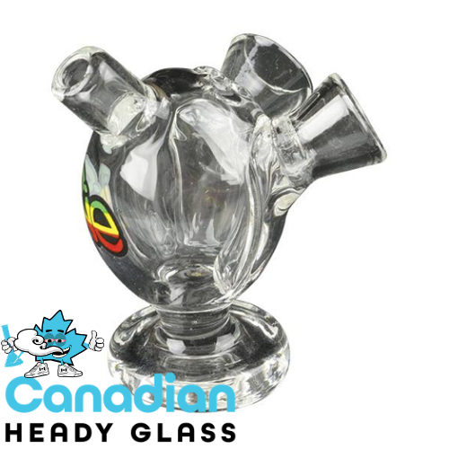 "iRie 2.5"" Tall Double Pre-Roll Bubbler"