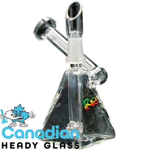 "iRie 3.5"" Tall Quashi Concentrate Bubbler W/10mm Joint"