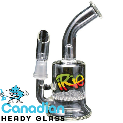 iRie 5 Inch Tall Cadella Concentrate Bubbler W/Honeycomb Perc