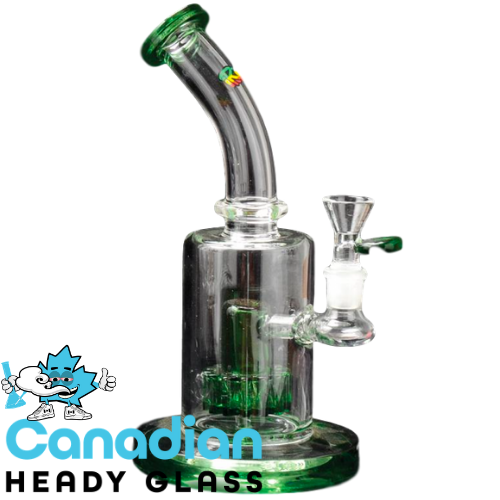 "iRie 9"" Tall Gideon Bubbler W/Gear Perc"
