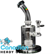 "iRie 9"" Tall Livity Bubbler W/Barrel Perc"