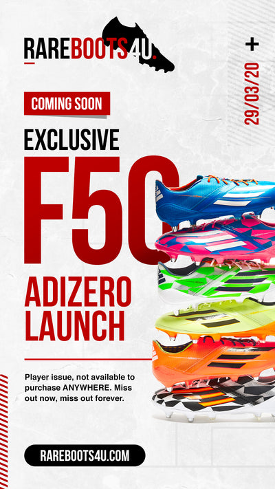 Exclusive F50 Adizero Launch - Sunday 29th