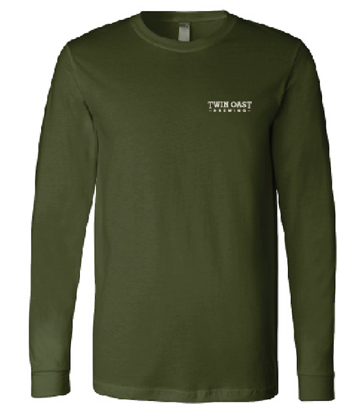 Olive Green Long Sleeve Shirt