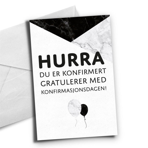 HappyStar - Konfirmant Hurra