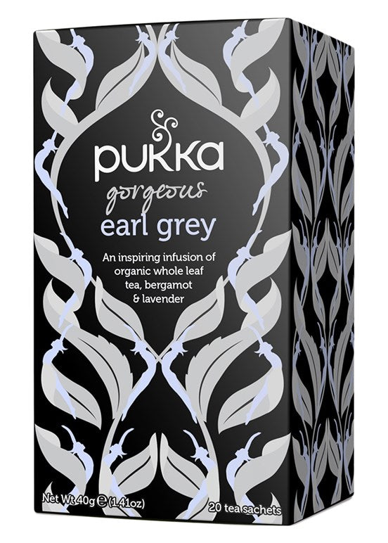 Pukka te - Gorgeous Earl Grey Tea