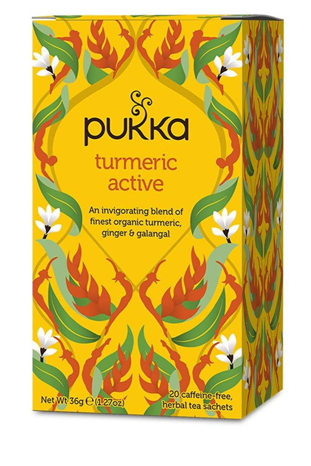 Pukka te - Three Turmeric Active Tea