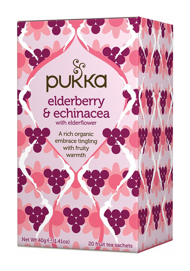 Pukka te - Elderberry & Echinacea Tea