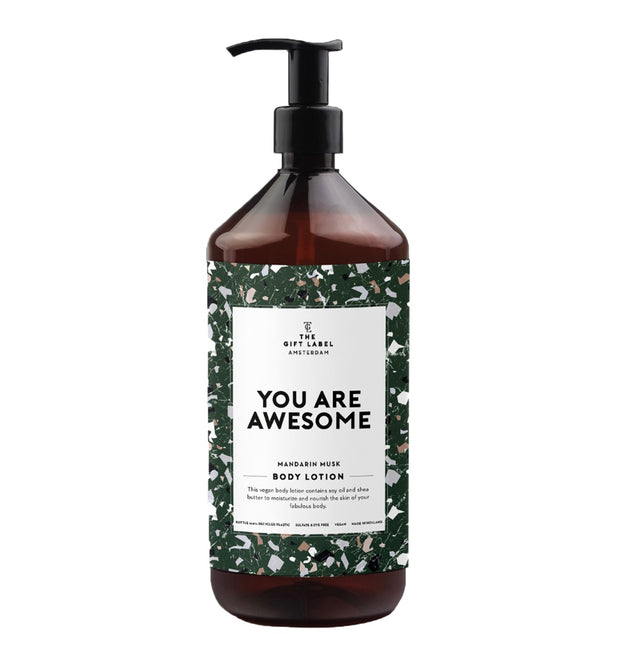 The Gift Label - Body Lotion You Are Awesome