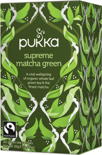 Pukka te - Supreme Matcha Green Tea
