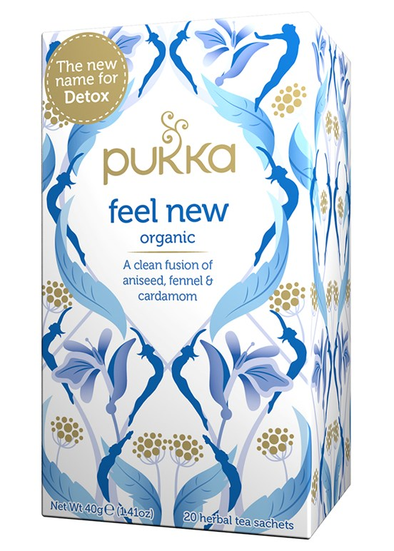 Pukka te - Feel New Tea