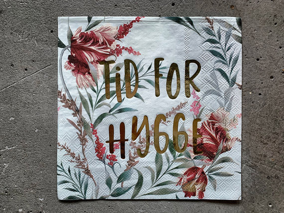 "Trend Design - Servietter ""Tid For Hygge"""