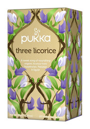 Pukka te - Three Licorice Tea