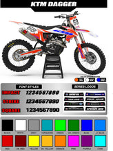 Load image into Gallery viewer, KTM DAGGER