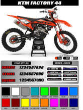 Load image into Gallery viewer, KTM FACTORY 44