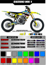 Load image into Gallery viewer, SUZUKI MX1