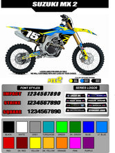 Load image into Gallery viewer, SUZUKI MX2