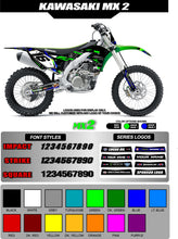 Load image into Gallery viewer, KAWASAKI MX2