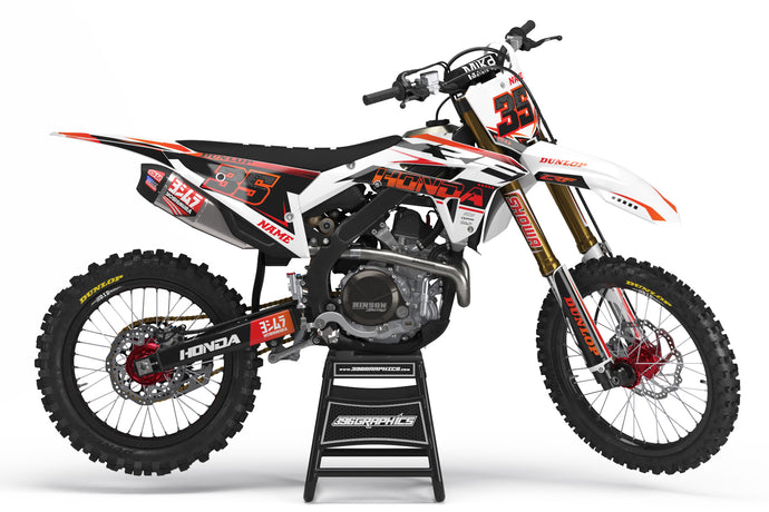 JACKED GRAPHICS FOR HONDA