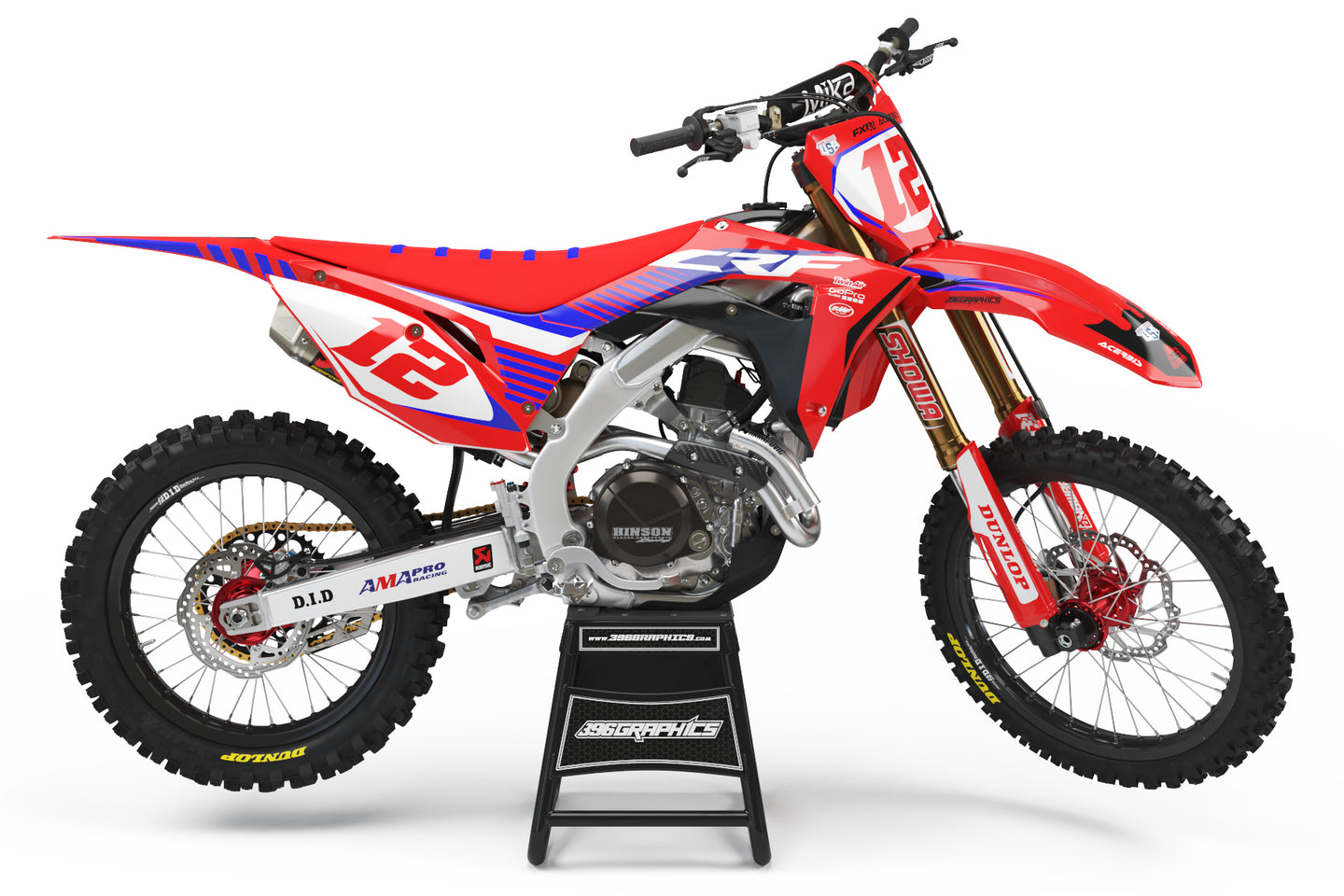 FACTORY FUTURE GRAPHICS FOR HONDA
