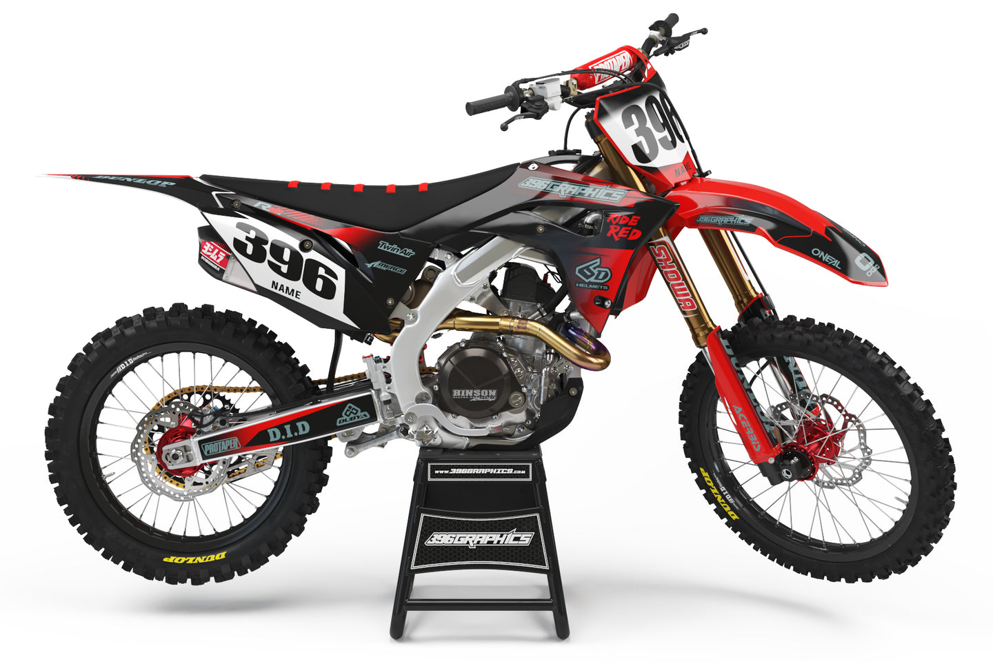 FADE OUT GRAPHICS FOR HONDA