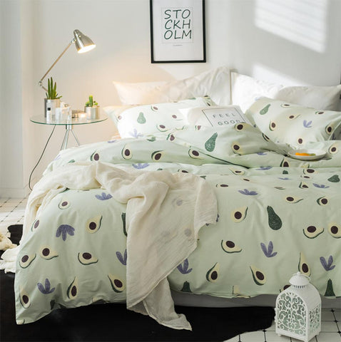 Avocado Bed Set...King, Queen, Double, Single Four Piece Set