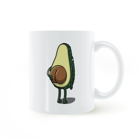 Avocado Ceramic Coffee Mug