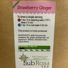 Load image into Gallery viewer, Strawberry Ginger