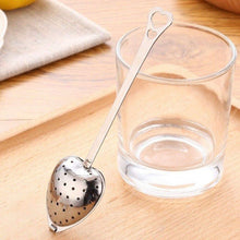 Load image into Gallery viewer, Heart Shaped Stainless Steel Tea Infuser