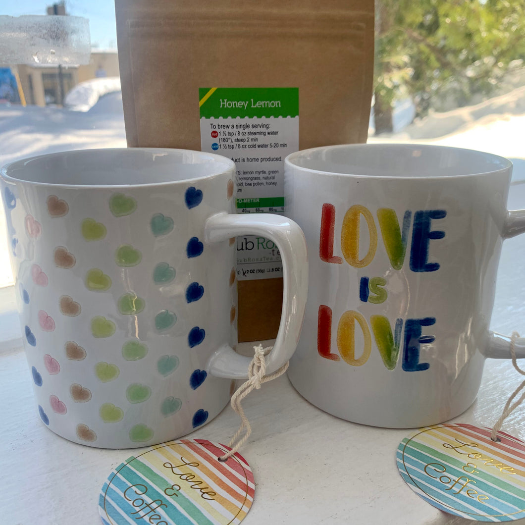 18oz LOVE is LOVE Rainbow