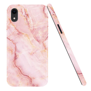 iPhone XR mobilskal - Marble Rose