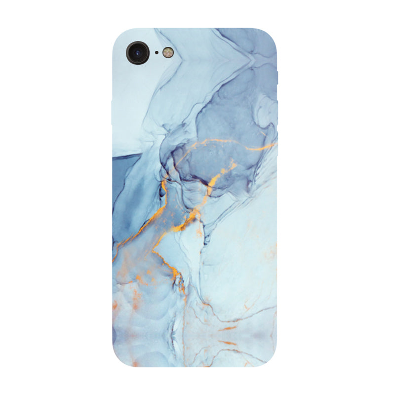 iPhone 7 & 8 mobilskal - Marble Blue