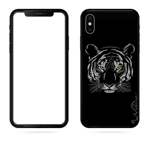 iPHONE X & XS mobilskal Tiger