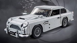 JAMES BOND MEETS LEGO .... an ASTON MARTIN DB5 that everyone can afford!