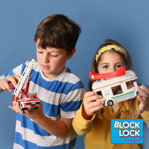 Play with the LEGO sets when they are glued as they stay together for longer